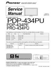 Buy Panasonic PDP-434PC-TAXQ[2] Manual by download Mauritron #300972