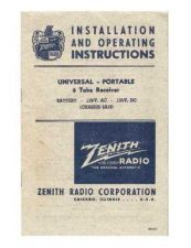 Buy Zenith 6G501 Instructions and Schematics by download Mauritron #331118