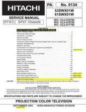 Buy Hitachi PA0134 Service Manual by download Mauritron #323241