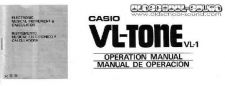 Buy CasioVL1 Manual by download #333299