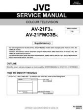 Buy JVC AV-21D33 Service Manual by download Mauritron #279595
