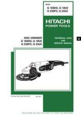 Buy Hitachi G23U2 Tool Service Manual by download Mauritron #320020