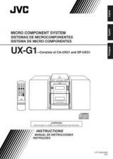 Buy JVC UX-G1-35 Service Manual by download Mauritron #284161