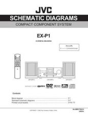 Buy JVC EX-P1-11 Service Manual by download Mauritron #280395