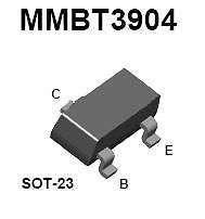 Buy SMT Transistor - MMBT3904 NPN (SOT-23) - 35 Pieces