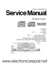 Buy Panasonic Panasonic-SA-AK38 Manual by download Mauritron #300869