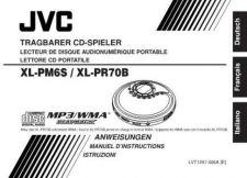Buy JVC XL-PM6S - XL-PR70B-4 Service Manual by download Mauritron #277300