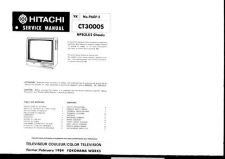 Buy Hitachi CT-5072 Service Manual by download Mauritron #289652