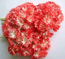 Buy 100 Mulberry Paper Flower Mini Embellishment Craft Decoration Scrapbook 1cm