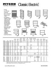 Buy Honeywell Myson Electrictowelwarmerspecs by download Mauritron #317902