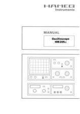 Buy Hameg HM205 2 Operating Guide by download Mauritron #307163