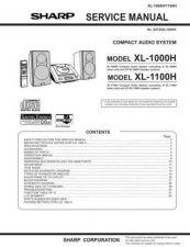 Buy JVC XL1000H-1100H_SM_GB(1) Service Manual by download Mauritron #278427
