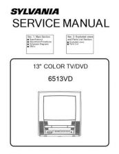 Buy Emerson 6513VD Service Manual by download Mauritron #330569