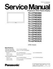 Buy Panasonic TH-37PWD8ES Manual by download Mauritron #302346