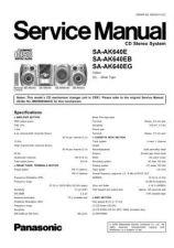 Buy Panasonic SA-AK340P Manual by download Mauritron #301670