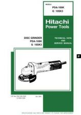Buy Hitachi G10SK3 Tool Service Manual by download Mauritron #319971