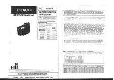 Buy Hitachi VM2000A1 Service Manual by download Mauritron #290958