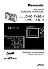 Buy Panasonic DMC-FX1GC Manual by download Mauritron #298719