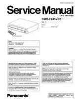Buy Panasonic DMR-EZ25EB Manual by download Mauritron #299048