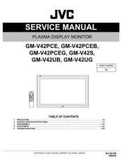 Buy JVC GM-V42UG Service Manual by download Mauritron #280503