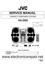 Buy JVC JVC-HX-GD8 Service Manual by download Mauritron #281734