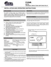 Buy Honeywell azel sp81manual Operating Guide by download Mauritron #316635