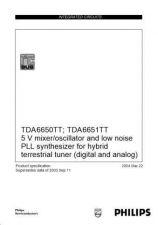 Buy Panasonic TDA6650TT_ TDA6651TT Manual by download Mauritron #302232