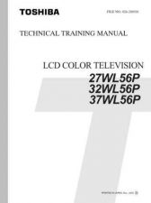 Buy Toshiba 27WL56 TV Service Manual by download Mauritron #323022