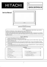 Buy Hitachi 32HDL51 Service Manual by download Mauritron #287749