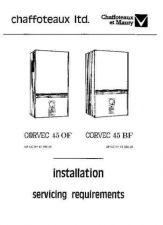 Buy Chaffoteaux CORVEC 45 BF GCNO.41-980-29 by download Mauritron #324179