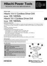 Buy Hitachi DS14DSAL Tool Service Manual by download Mauritron #319870