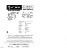 Buy Hitachi VM-E56A Service Manual by download Mauritron #286897