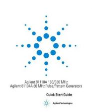 Buy Hewlett Packard 81110Arg 554525 Manual by download Mauritron #331437