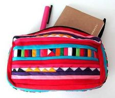 Buy Colorful Vintage Clutch Hmong Hill Tribe Fabric Purse Cosmetic travel Bags