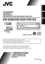 Buy JVC KD-G322-KD-G321-KD-G3-6 Service Manual by download Mauritron #274994