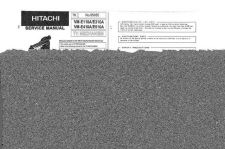 Buy Hitachi VM-E56A-3 Service Manual by download Mauritron #286900