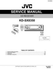 Buy JVC KD-SX8350 Service Manual by download Mauritron #275281