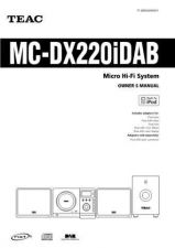 Buy Teac MCDX15E Operating Guide by download Mauritron #318893