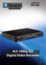 Buy Swann DVR4 8000 1080P SDI V2 Instructions by download #336405