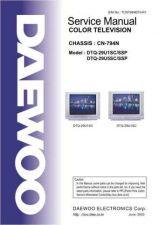 Buy Daewoo DTQ-29U1 Service Manual by download Mauritron #331742