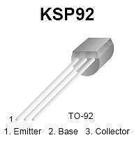 Buy Transistor - KSP92 PNP High-Voltage Amplifier (TO-92) - 15 Pieces