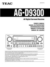 Buy Teac AGD9300EFGIS Operating Guide by download Mauritron #318291
