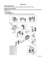 Buy JVC GR-D73E par Service Manual by download Mauritron #280614