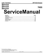 Buy Philips DPTV335 Service Manual by download Mauritron #323618