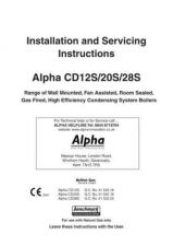 Buy Alpha CD S Instructions & Serv Instructions 01-11 by download Mauritron #337928