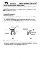 Buy Hitachi DV20T2 Tool Service Manual by download Mauritron #319910