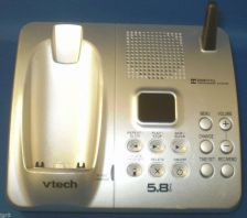 Buy Vtech IA5874 main base w/PSU - DECT CORDLESS PHONE v tech charging ac telephone