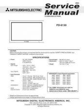 Buy Mitsubishi PD-5030 Service Manual by download Mauritron #323394