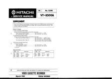 Buy Hitachi TK-1534E Service Manual by download Mauritron #286270