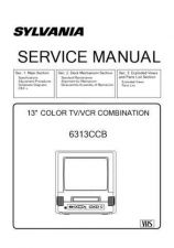 Buy Magnavox 6313CCB Service Manual by download Mauritron #330796